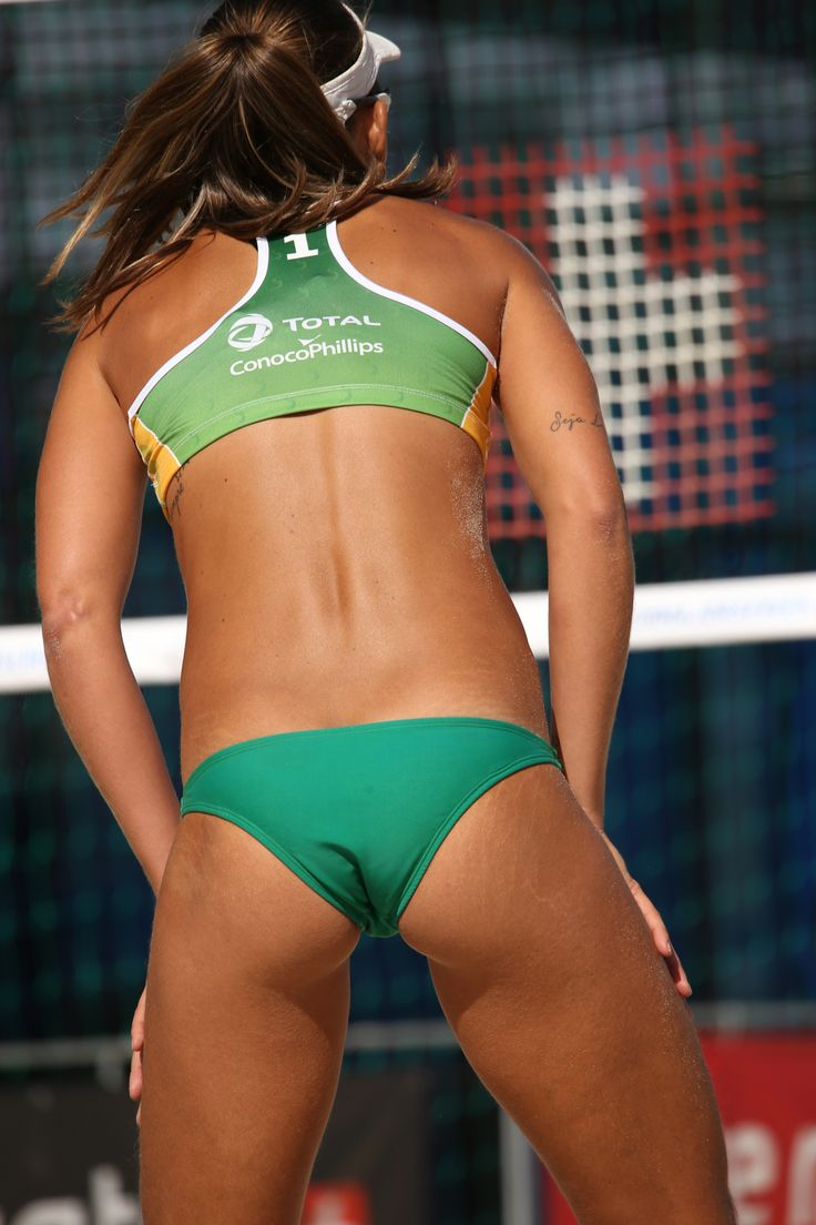 sexy nude volleyball babe