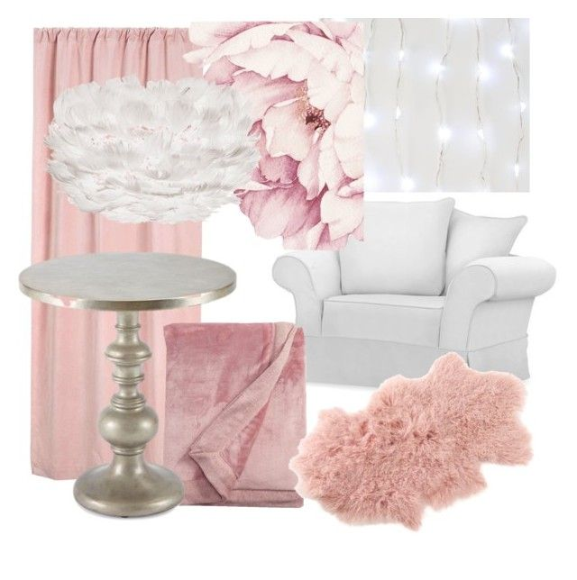 """""""My kids dreamroom"""" by inauniqe on Polyvore featuring interior, interiors, interior design, home, home decor, interior decorating, Pottery Barn, UGG, Saro and Hooker Furniture"""
