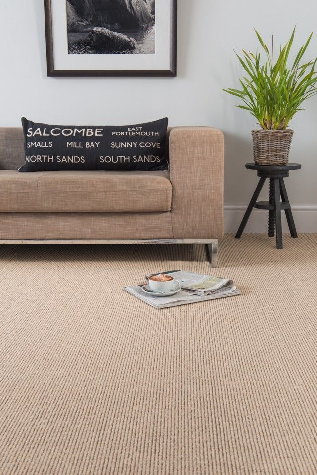 Beautiful soft wool floor in neutral palette 'wool dartmoor princetown' #wool #livingroom