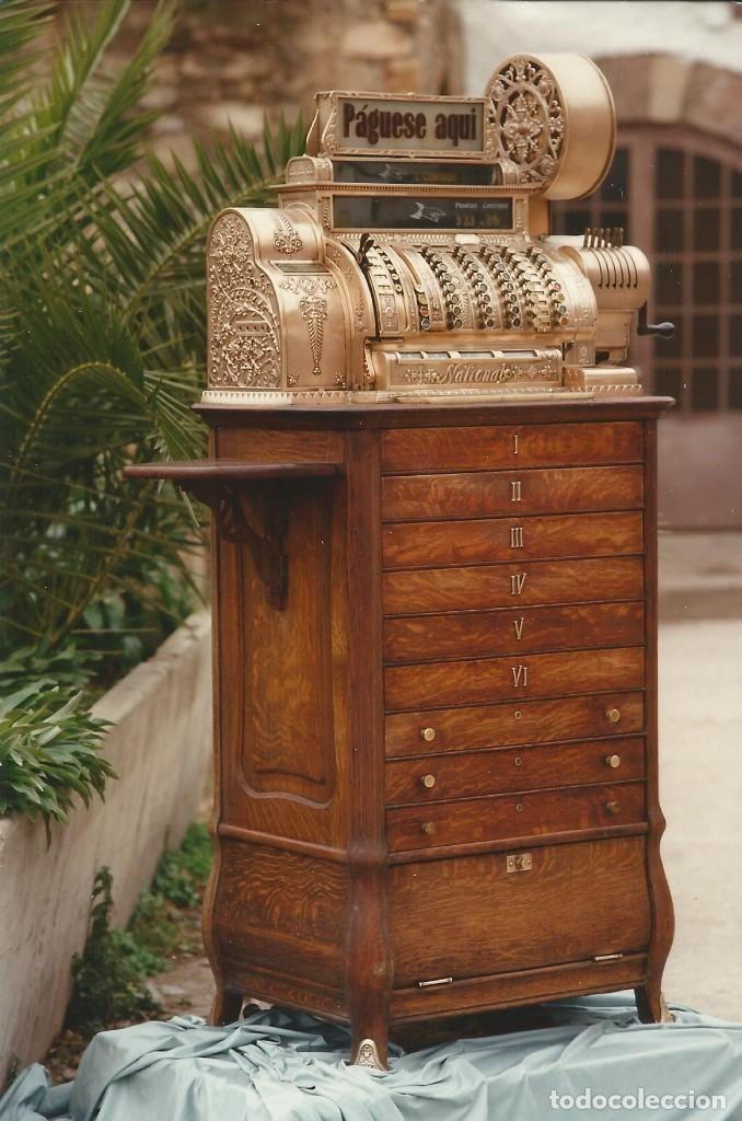 Antigüedades: Espectacular Registradora National del desaparecido Hotel Santo Domingo de Manresa - Foto 2 - 109205035