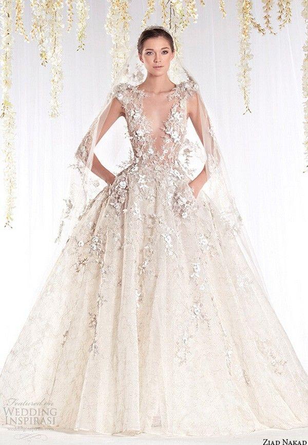 Свадьба платья ручной работы цветы само декольте короткий рукав бальное платье свадебные платья зияд Nakad купить на AliExpress