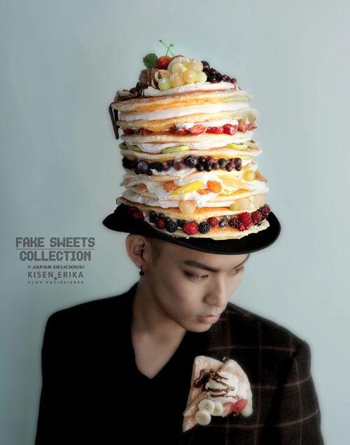 イケメンモデル君+パンケーキの至福。ホビーショー Fake Sweets Collection  氣仙えりかのフェイクスイーツ&ドールブログ Ameba (アメーバ)