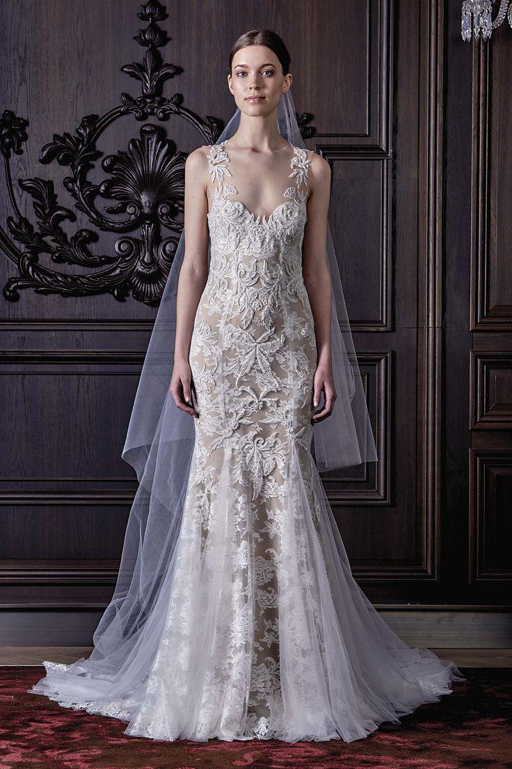 33 best Monique Lhuillier Bridal images on Pinterest | Wedding ...