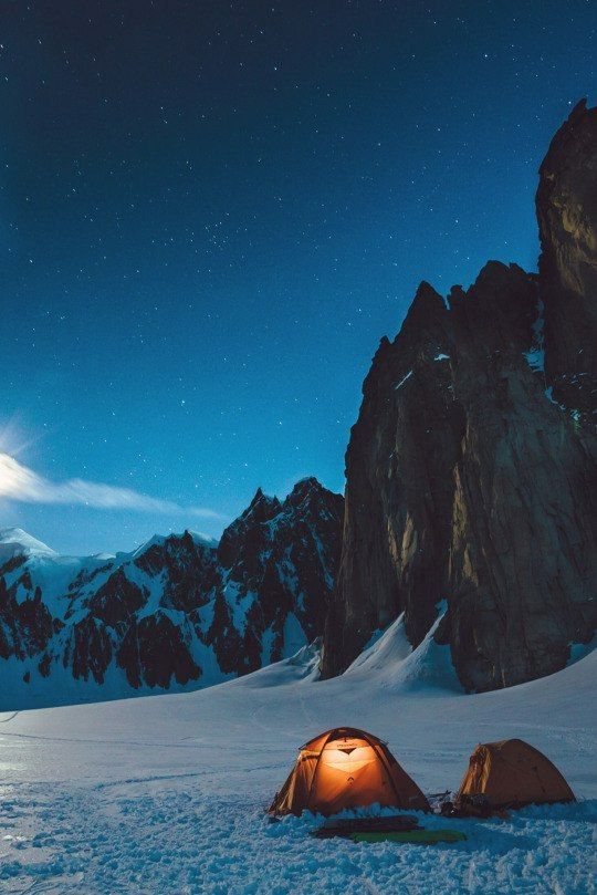 Enjoy the winter in the mountains-maybe in a nice cozy relaxing place. This place looks so peaceful!