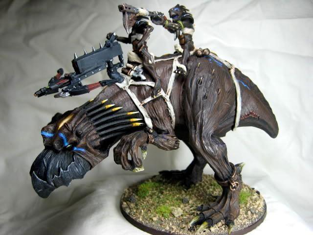Kroot Mounted Gt Knarloc W Kroot Bolt Thrower 40k