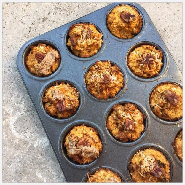 Carrot Cake Muffins | Jessica Sepel