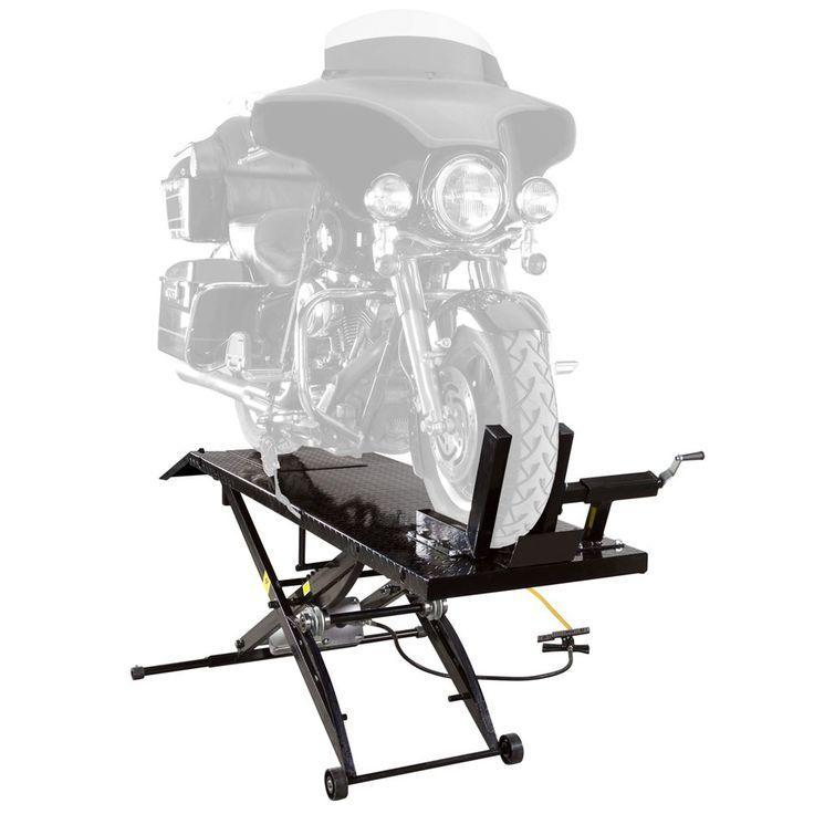 Pneumatic Lift Table Design 2 top seller vestil heavy duty air bag scissor lift table Black Widow Pneumatic Motorcycle Lift Table 1000 Lb Capacity