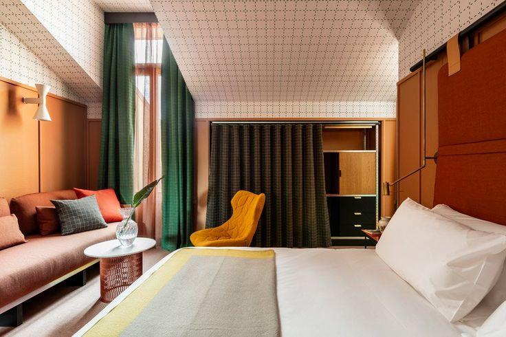 Patricia Urquiola's Mate Giulia Milano |  www.bocadolobo.com #hoteldesign #modernhotel #hoteldecoration #interiordesignideas #hotelrooms