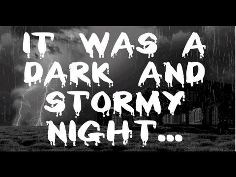 ▶ Haunting Storm Sound - 8 Hour Long Rain and Storm for Sleep - YouTube  (Perfect for Halloween !)