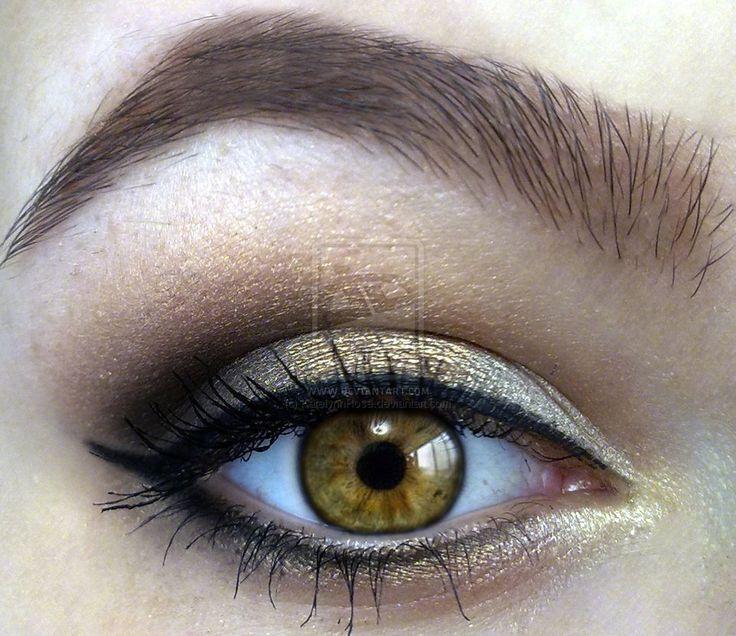 Makeup for Hazel eyes. Fave colors!Hair Beautiful, Gold Eyeshadow, Eye Colors, Brown Eye, Hazel Eye Makeup, Hazel Eyes, Eye Make Up, Eyemakeup, Wedding Makeup