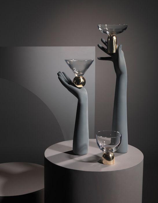 #LeeBroom | Glass On Brass - Wine, Martini & Champagne Coupe