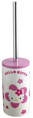 Porte brosse toilettes WC HELLO KITTY FLOWER | Accessoires Hello Kitty et Salle de bain