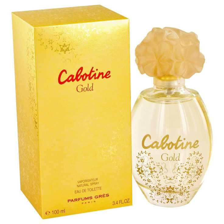 Cabotine Gold Perfume by Parfums Gres, Parfums gres presented cabotine gold as a dedication to the charm of the precious glorious metal . The limited edition is to adorn the sophisticated dainties in