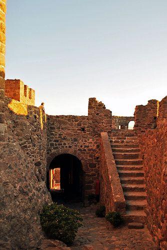 Molivos, castle