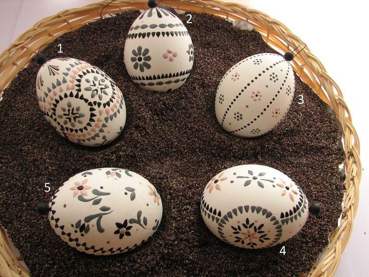 Ostereier sorbisch Bossiertechnik von INEZZA  -  Geschenkestübchen auf DaWanda.com