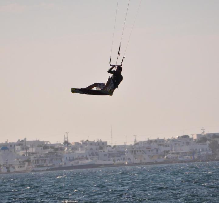 Kite surfing in Greece, Anti paros
