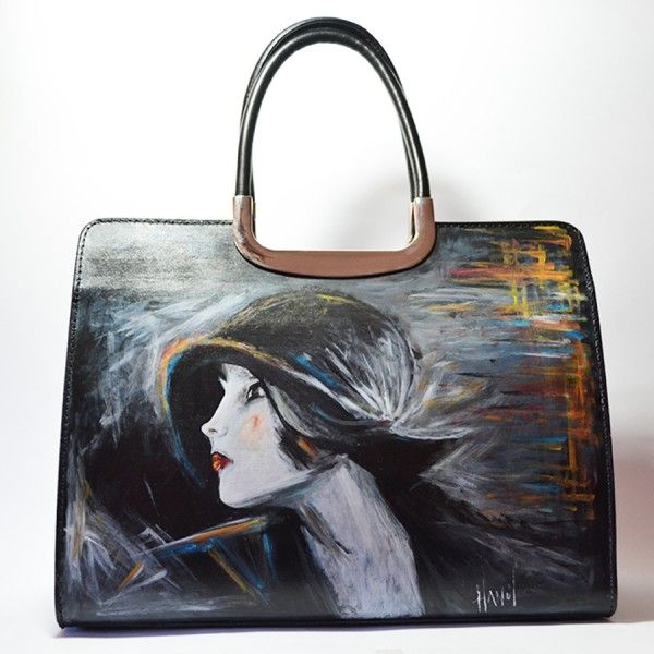 borse dipinte a mano