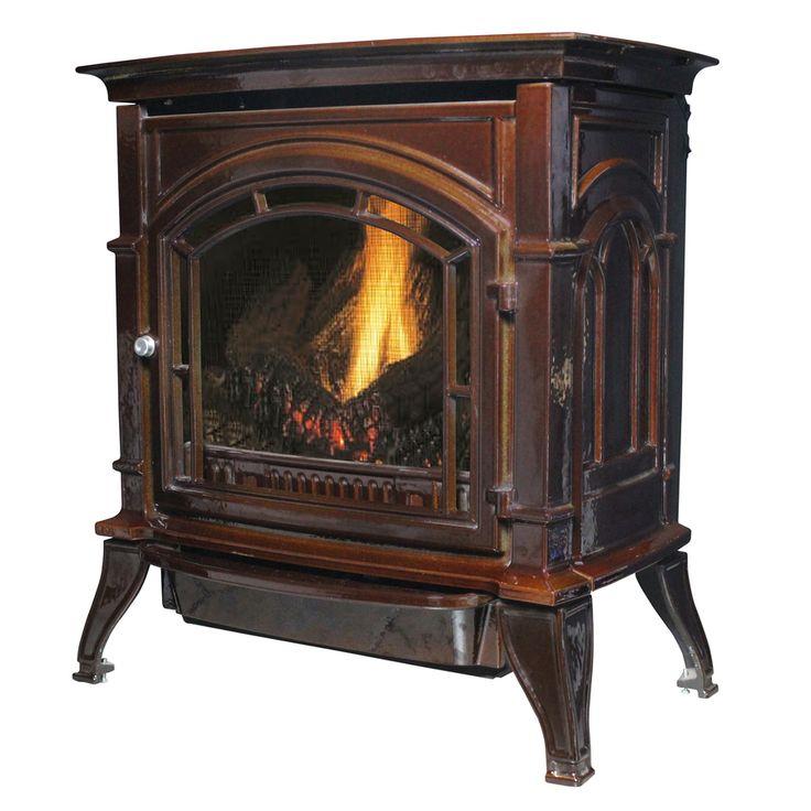 Ashley Hearth Products 1,000-sq ft Single-Burner Vent-Free Liquid Propane Gas Stove