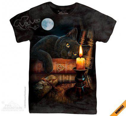 The Witching Hour - The Mountain - Damska - Koszulka damska z kotem - www.veoveo.pl