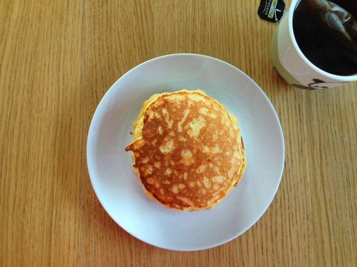 Gunns momsemat: Yoghurtpannekaker med eple