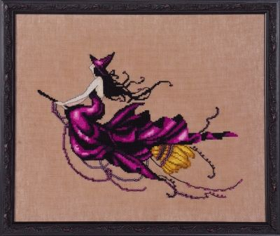 Nora Corbett Eva (Bewitching Pixies) - Cross Stitch Pattern - 123Stitch.com