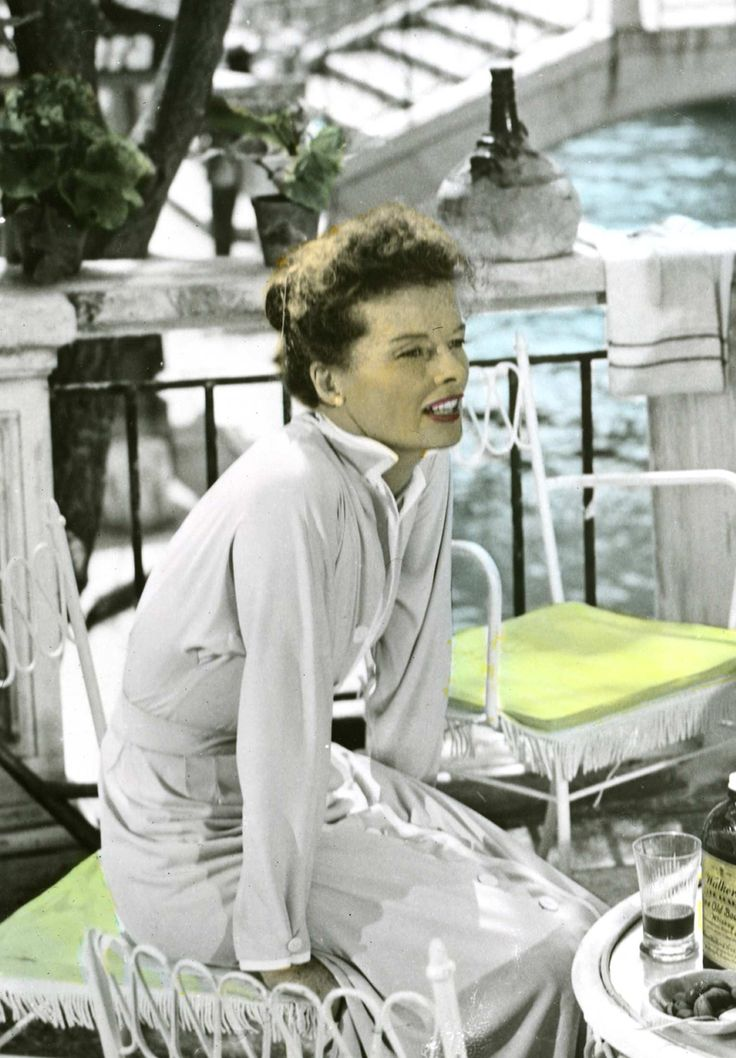 "Katharine Hepburn in ""Summertime"" (1955). Director: David Lean."