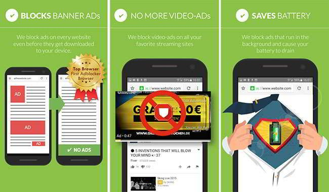 Best Ad blocker for android to block ads/stop pop ups. AdBlock Android: