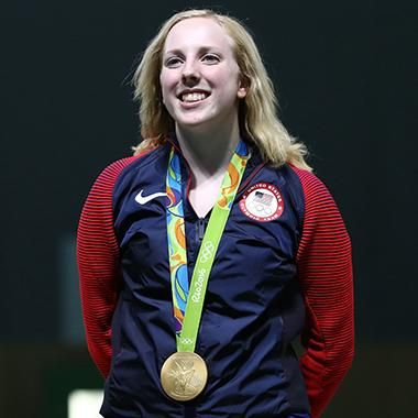 Hot: Rio Olympics: Ginny Thrasher wins first Team USA gold medal