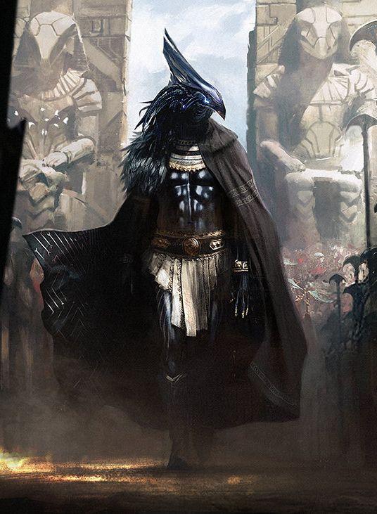 Fantasy Art Watch — Horus by Morgan Yon