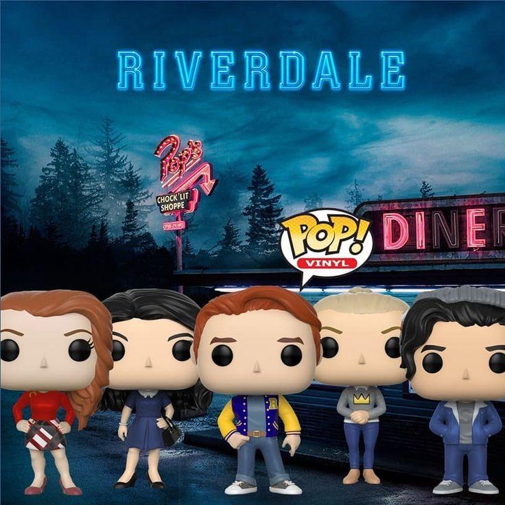 #funko #riverdale #funkomania Riverdale é uma série da The CW inspirada nos personagens de quadrinhos da Archie Comics.