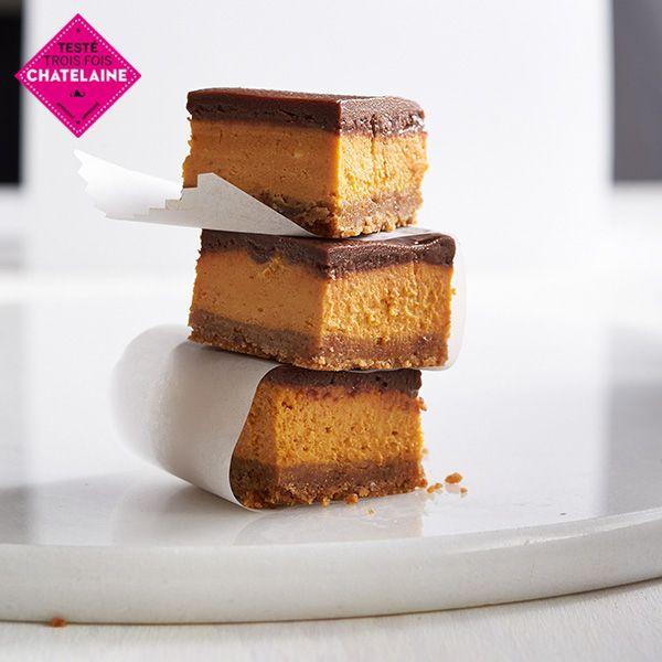 Ces trois ingrédients qui s'harmonisent à la perfection font de ces bouchées un vrai délice automnal.