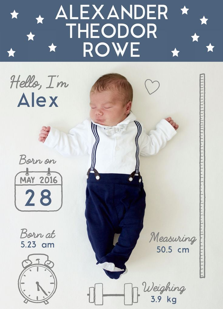 17 Best ideas about Baby Boy Announcement on Pinterest | Baby boy ...