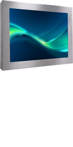 """Maliseet Totem Touch Screen da 15"""" 17"""" 19"""" Orizzontale Outdoor"""