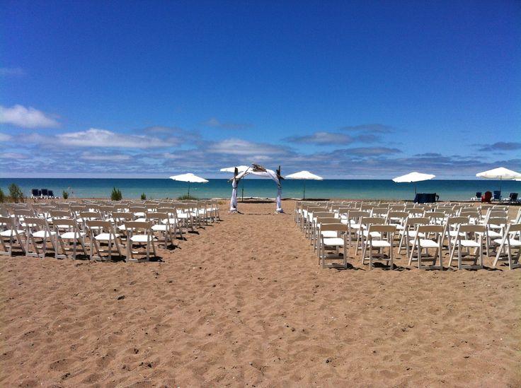 Bayfield, Ontario - Beach wedding - Deer Park Lodge Resort - Wedding Day Coordination by High Gloss Weddings - www.highglossweddings.com
