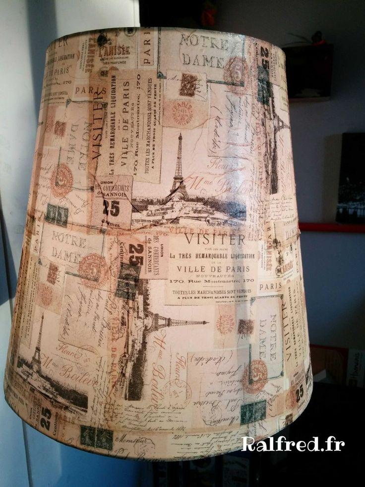 Relookage de mon lampadaire