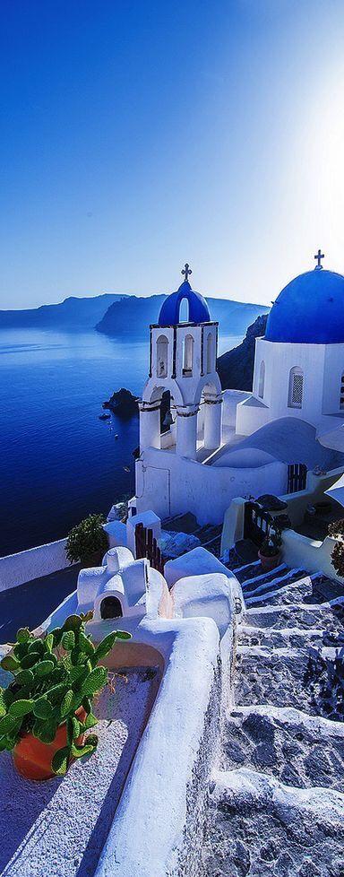 "bluehome91: ""Santorini Greece """