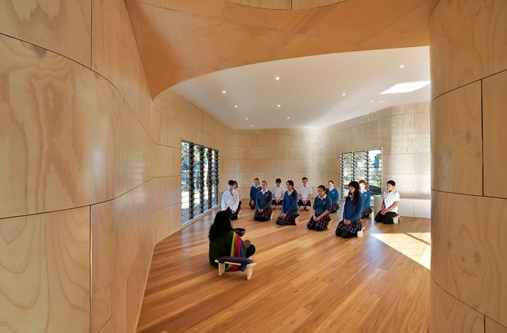 Bentleigh Secondary College Meditation and Indigenous Cultural Centre, Melbourne, Australia by dwp|suters