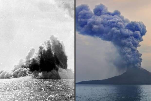 130 Tahun Letusan Dahsyat Gunung Krakatau