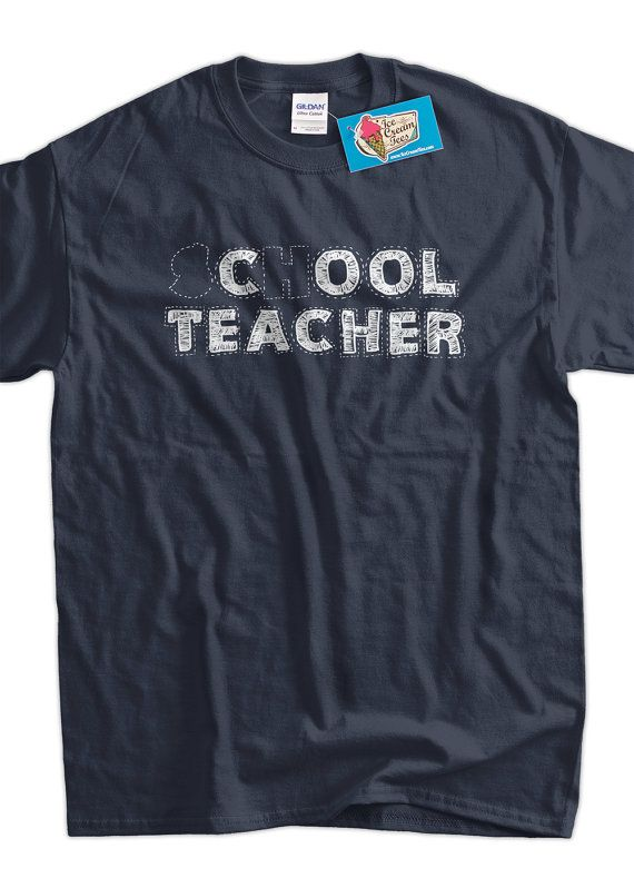Funny Cool Teacher  School Teacher Screen Printed by IceCreamTees, $14.99