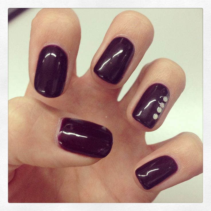 Manicure Monday, Bio Sculpture #10 Pinotage