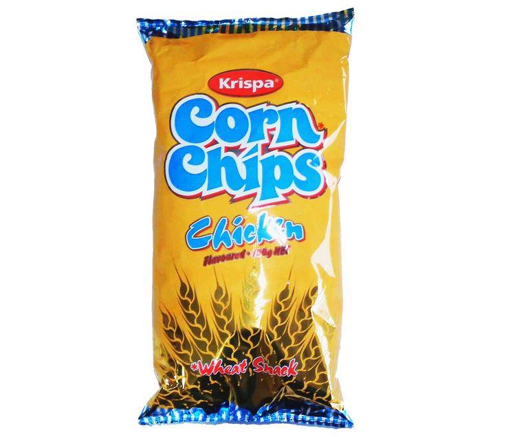 Krispa Corn Chips Chicken 100g, AU$3.30 per bag plus postage from Kiwi Shop Online (price correct as at 18.09.17)