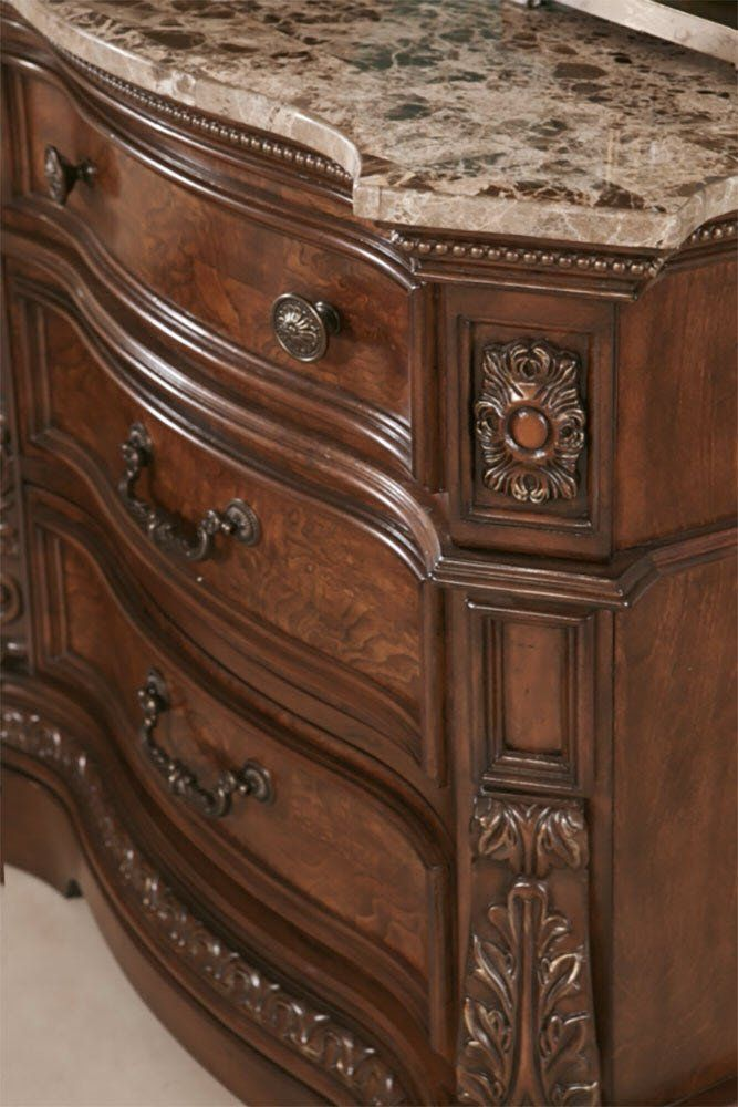 Signature Design By Ashley North Shore Three Drawer Night Stand Dark Brown Check This Awesome Produ Canopy Bedroom Sets Bedroom Set Queen Sized Bedroom Sets