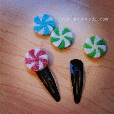 Whole hair clip DIY for her candy clips!