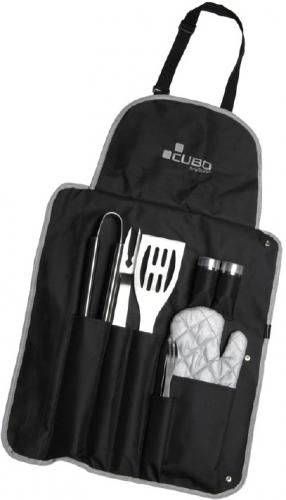 FRANCIS BATT Trousse tablier de 9 accessoires pour plancha ou barbecue / 139246