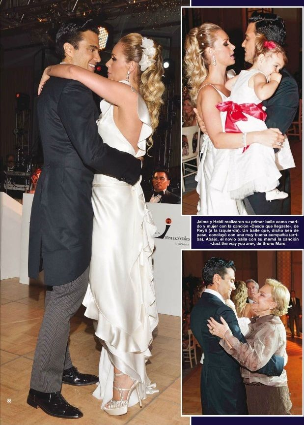 Jaime Camil & Heidi Balvanera - Hola Magazin Boda_19 #Hola ...