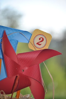 Curious George Pinwheel for party!