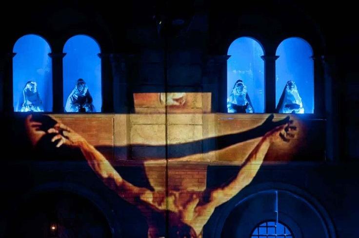 Una scena toccante del musical