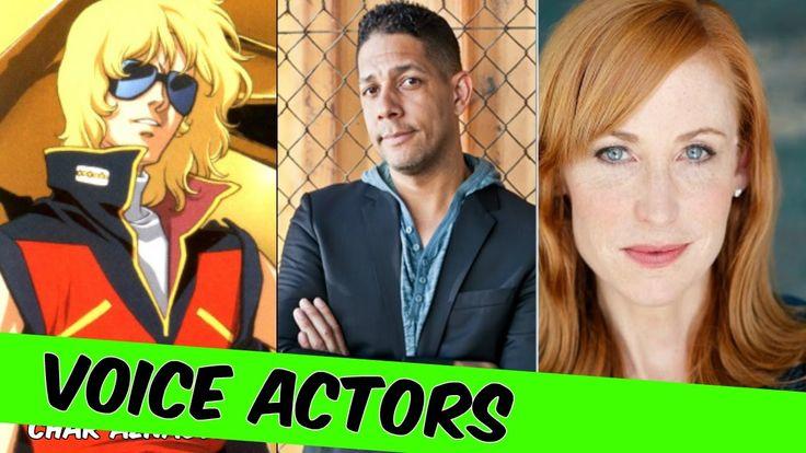 Mobile Suit Gundam The Origin Voice Actors [English] - Mobile Suit Gunda...