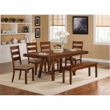 Ethan Dining Table Coaster 102931 Coaster Dining Table Dining Table For The Home Pinterest