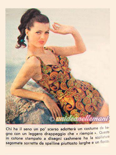costume anni 60 vintage